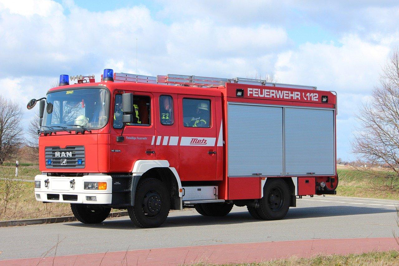 Feuerwehr Übung am 03.08.2021